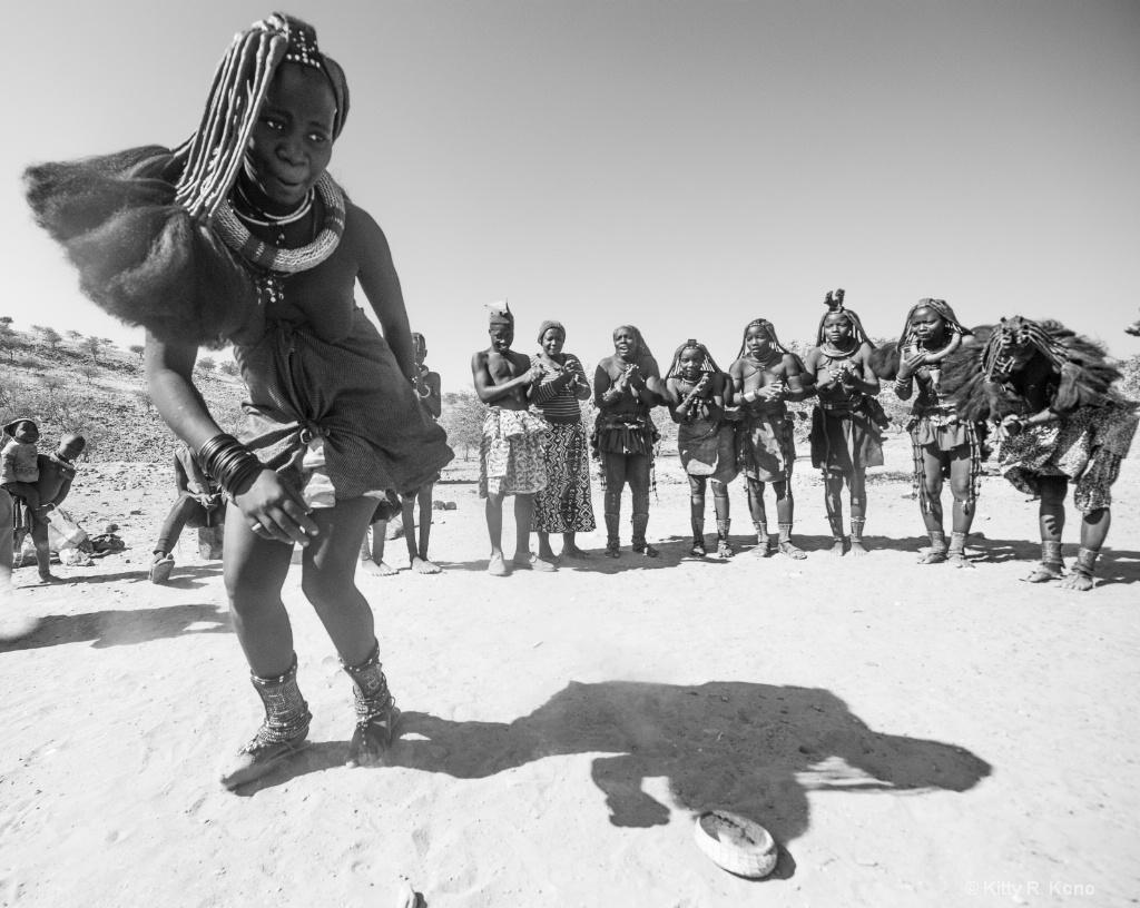 Himba Dancer