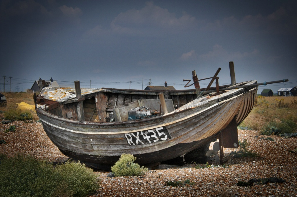 Boat in Dungeness