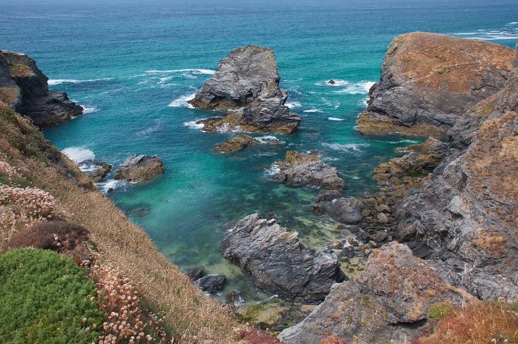View from the Path in Cornwall