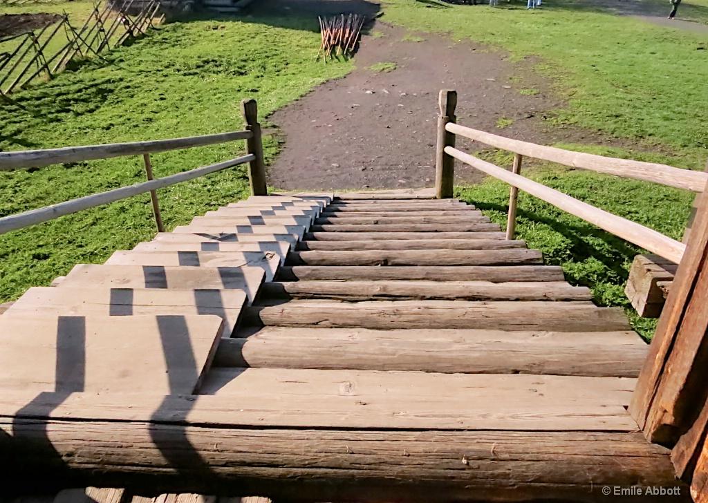 Manmade horse path