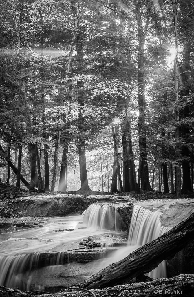 Truxel Falls Sunrays - CVNP