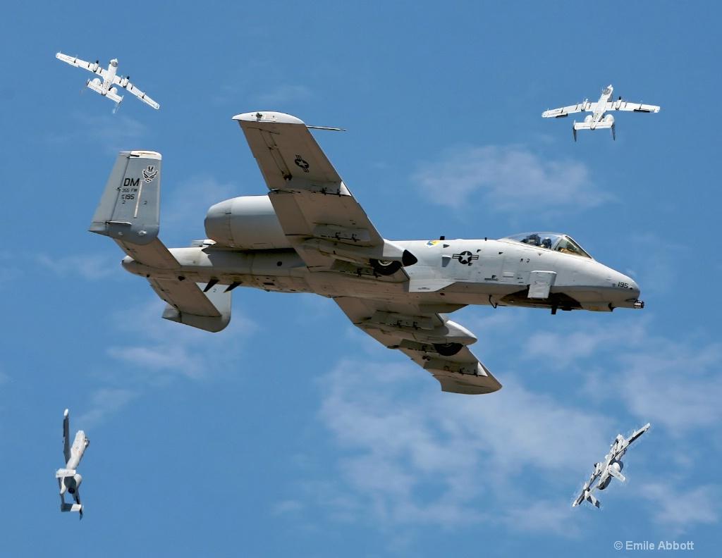 A-10 Attack bomber
