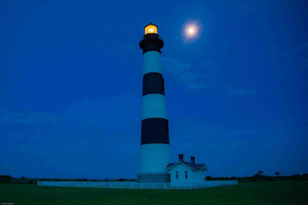 Bodie Light by Moonlight