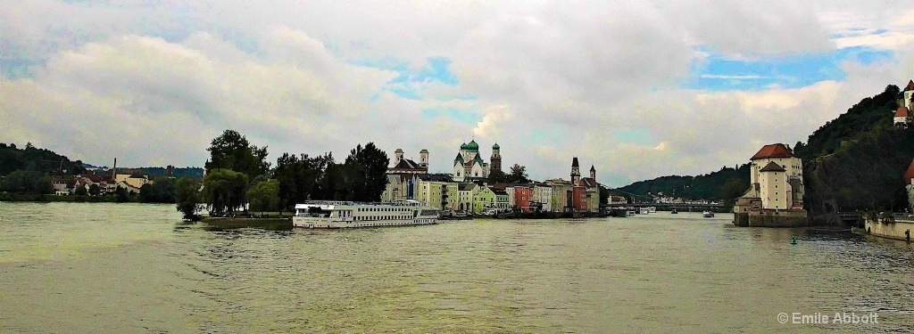 Passau 3 rivers