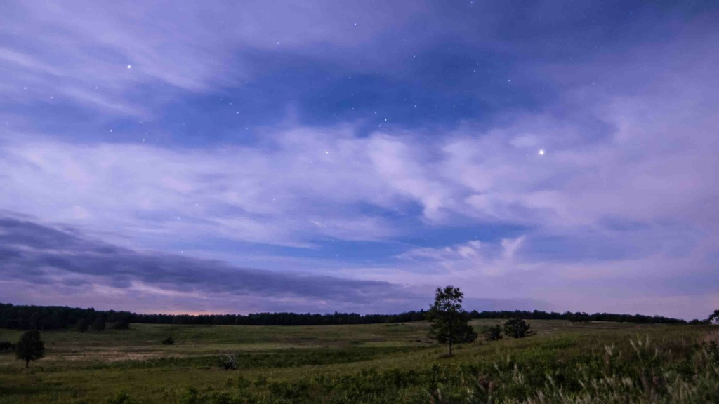 Big Meadow by the Full Moon