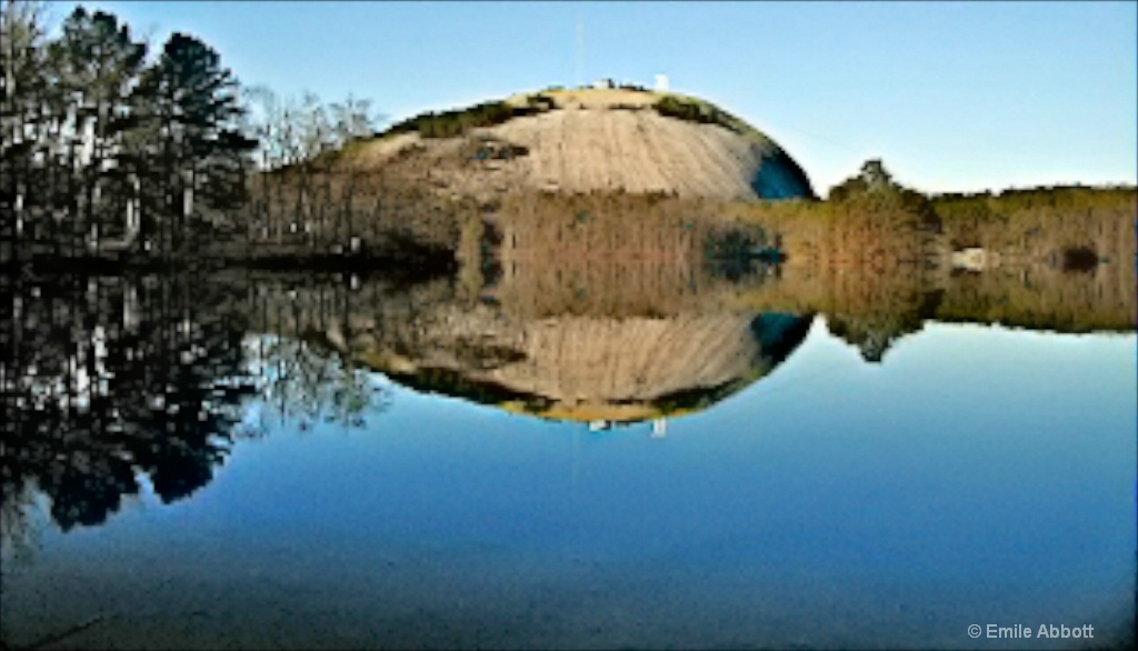 REFLECTIONS OF STONE MOUNTAIN