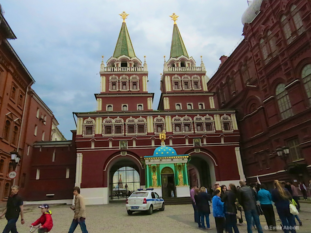 Entrance to Red Square Moscow