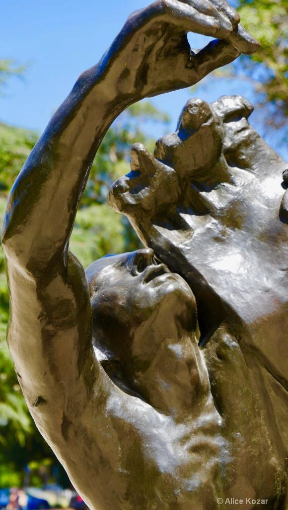 Agony...Rodin Sculpture