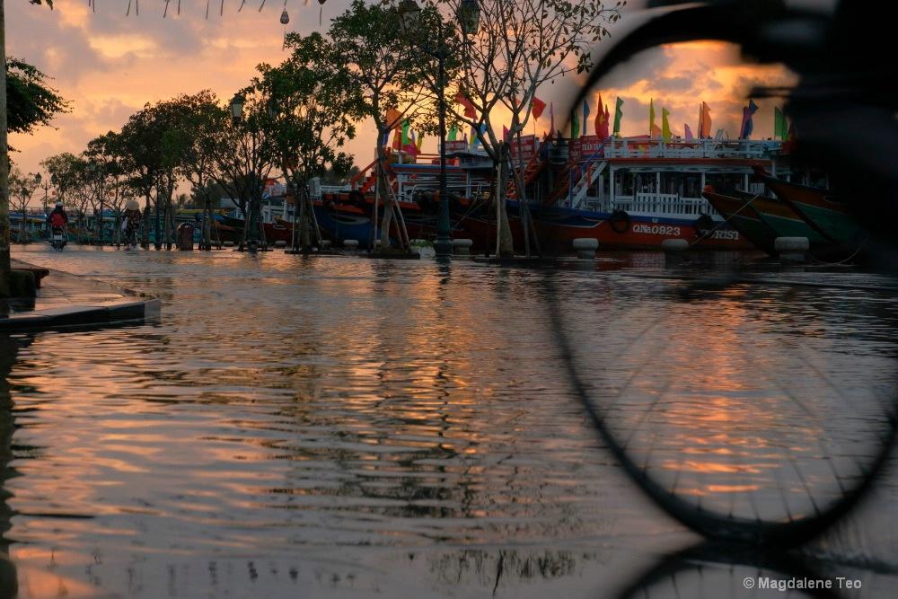 Sunrise at Hoi An Vietnam