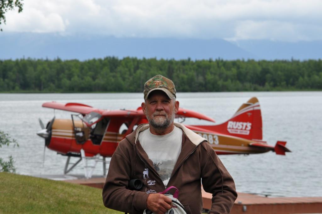 Love Flying in Alaska!