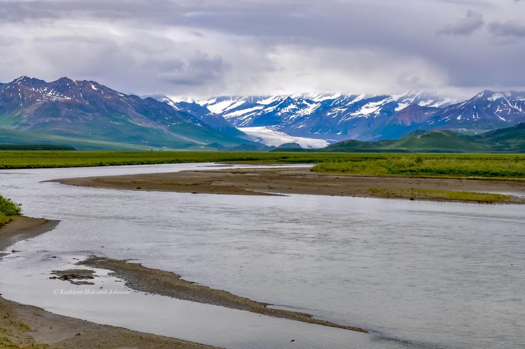Beautiful River Alaskan Style!