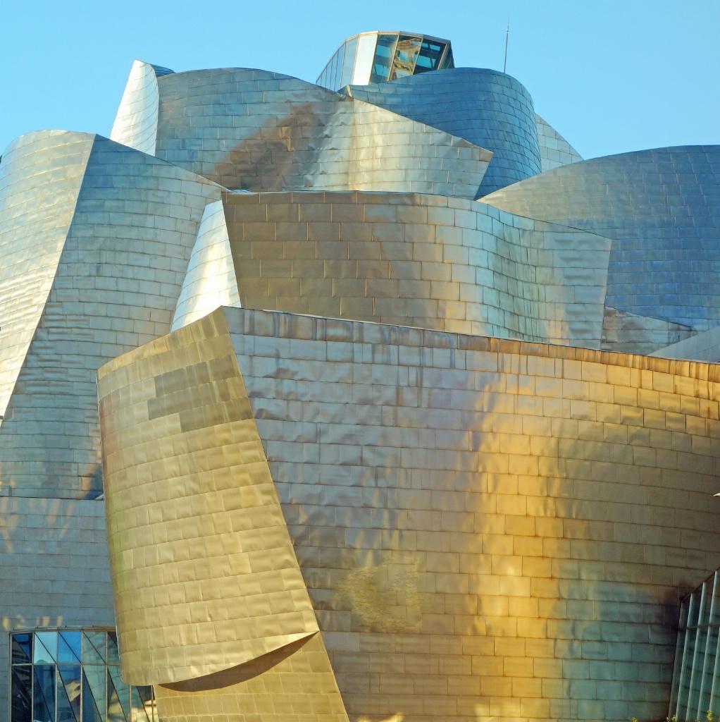 Guggenheim museum complex, Bilbao.