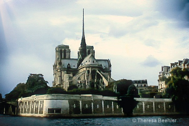 Architecture -- Notre Dame Back
