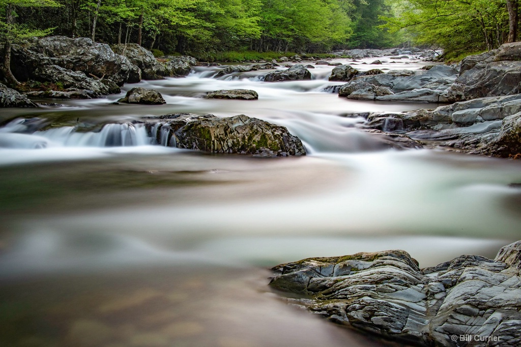 Little Pigeon RIver in Smoky Mountains
