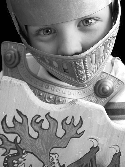 My Knight in Plastic Armor