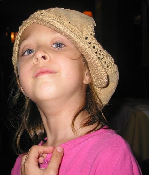 Little Girl, Big Hat