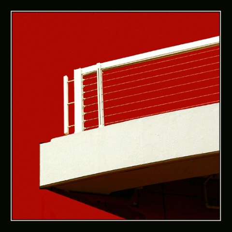 balcony-building abstract