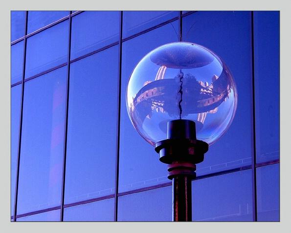 lightbulb & twisted images