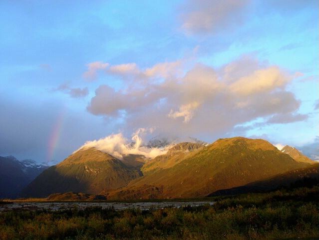Spotlight on the Mountain - ID: 47329 © Gary H. Minish
