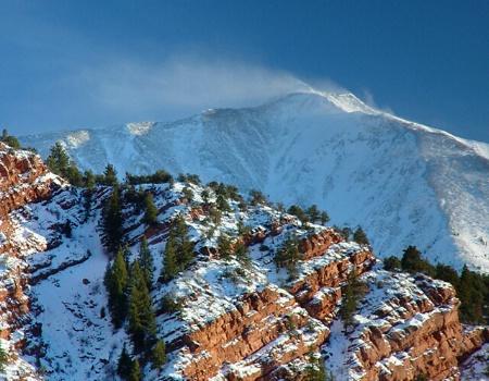 Windblown Mt. Sopris
