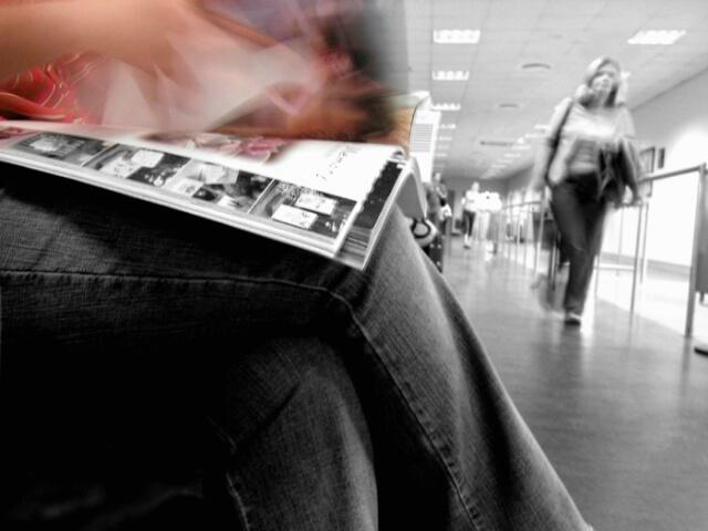 Flipping Through a Magazine