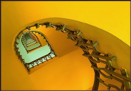 Photography Contest Grand Prize Winner - April 2003: Spiral