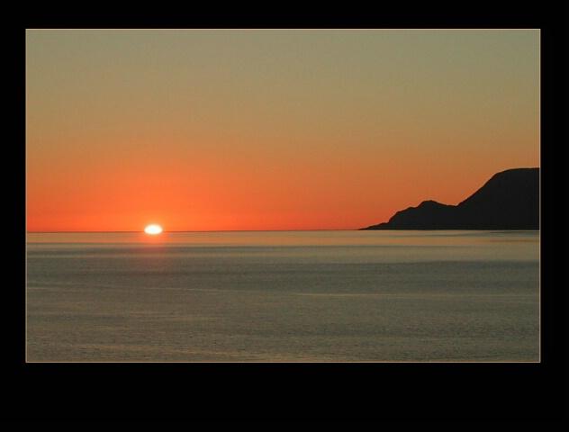 Same sun - different landscape