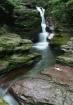 red rock falls