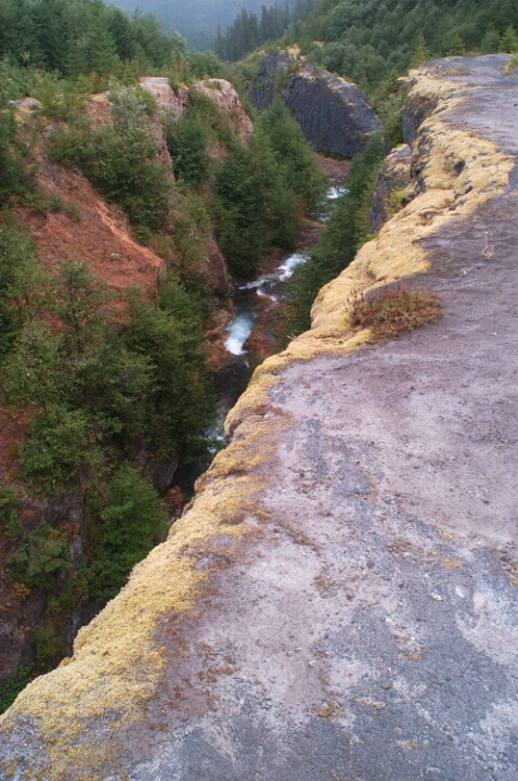 Lava Canyon Crevasse - ID: 178475 © Sandy Conley