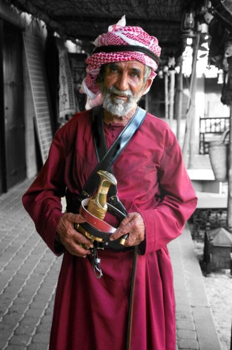 Living History...An old Emirati Beduoin Man