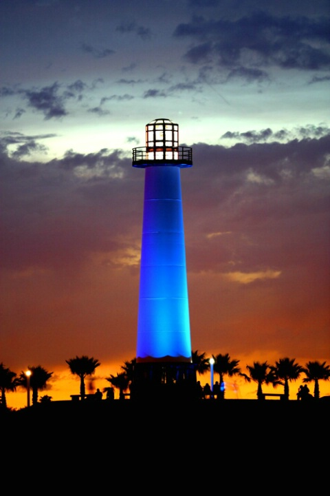 *lighthouse in long beach*