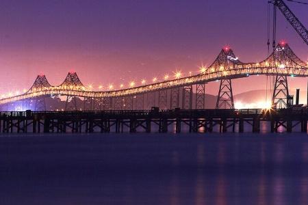 Richmond Bridge at Midnight