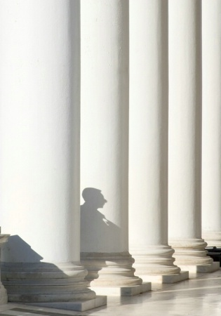 Columns and shadow