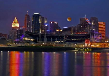 Full Moon Over Cincinnati