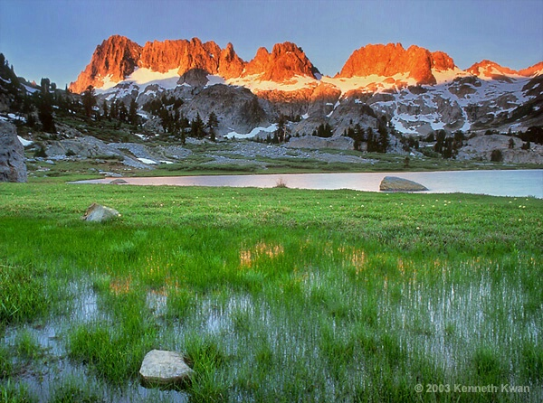 Ediza Lake Sunrise