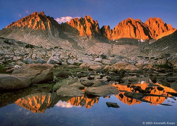 Alpine Peaks, Dusy Basin