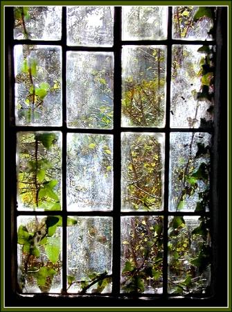 View Through Old Church Window