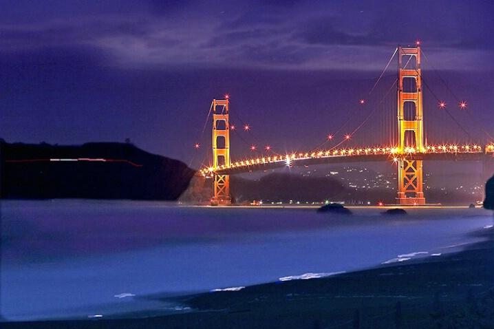 Baker Beach Blue Bridge