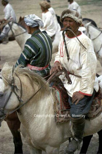 BuzKashi, whip in mouth - ID: 355768 © Cheryl  A. Moseley