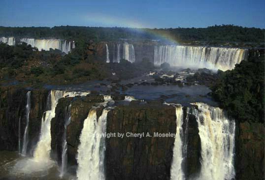 Iguasu Falls, distant - ID: 355801 © Cheryl  A. Moseley