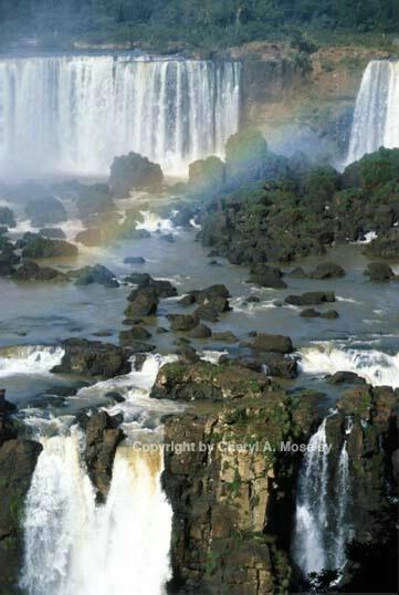 Iguasu Falls, close-up - ID: 355802 © Cheryl  A. Moseley