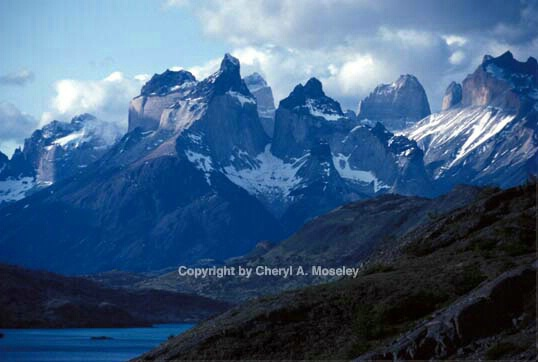 Towers of Paine Range, Patagonia - ID: 355807 © Cheryl  A. Moseley