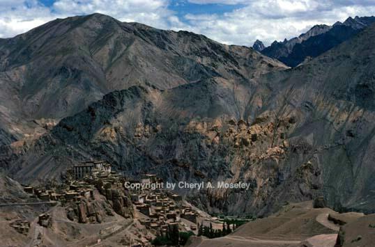 Lamayiru Buddhist village, Ladakh - ID: 355854 © Cheryl  A. Moseley
