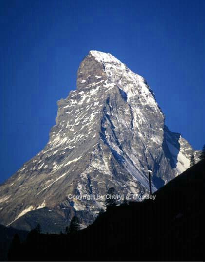 Matterhorn closeup - ID: 355895 © Cheryl  A. Moseley