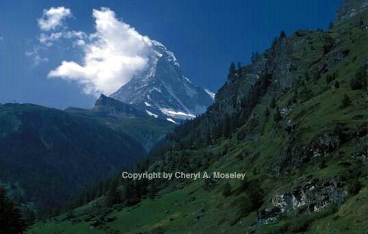 Matterhorn, distant view - ID: 355896 © Cheryl  A. Moseley