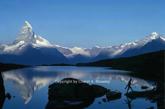 Matterhorn Morning, Switzerland - ID: 355897 © Cheryl  A. Moseley