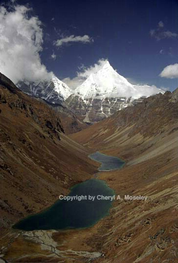 Chomolhari, Bhutan Himalayas, 9-24.jpg - ID: 362411 © Cheryl  A. Moseley