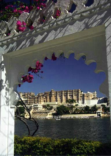 Udaipur Palace, Rajasthan, India 23-14 - ID: 362518 © Cheryl  A. Moseley