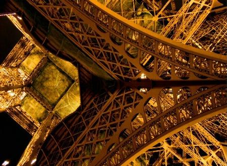 Under the Tour Eiffel