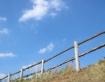 Blue sky with som...
